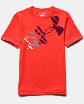 Boys' UA Break Script T-Shirt