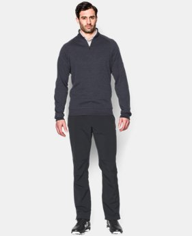 New Arrival  Men's UA Storm SweaterFleece Golf ¼ Zip  3 Colors $79.99