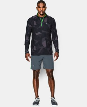 Men's UA Launch Run Printed ¼ Zip  3 Colors $52.99