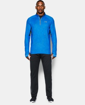 Men's UA Launch Run Printed ¼ Zip  2 Colors $52.99