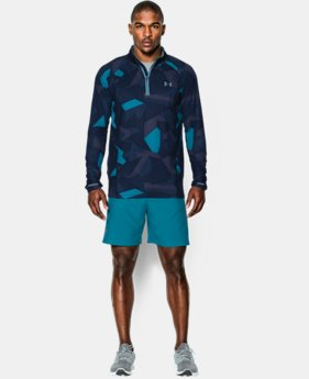 Men's UA Launch Run Printed ¼ Zip   $52.99