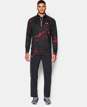 Men's UA Launch Run Printed ¼ Zip