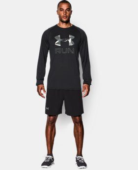 Men's UA Run Big Logo Long Sleeve T-Shirt