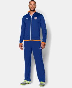Men's Cruz Azul Track Jacket LIMITED TIME: FREE U.S. SHIPPING 1 Color $52.99