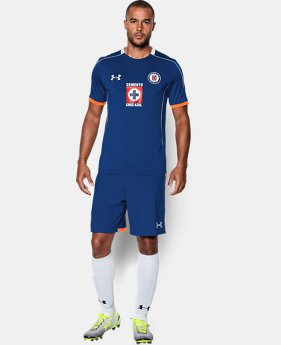 Men's Cruz Azul 15/16 Training Shirt  1 Color $37.99