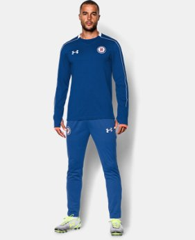 Men's Cruz Azul 15/16 Midlayer Crew  1 Color $42.74