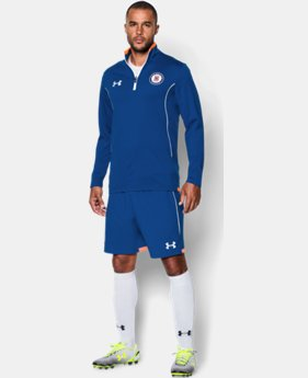 Men's Cruz Azul 15/16 ¼ Zip LIMITED TIME: FREE U.S. SHIPPING 1 Color $48.99