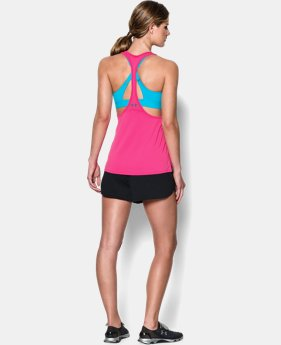 Women's HeatGear® Armour Mesh Tank   $22.99