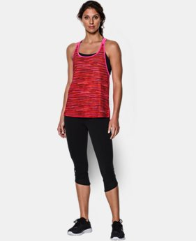 Women's HeatGear® Armour Mesh Printed Tank