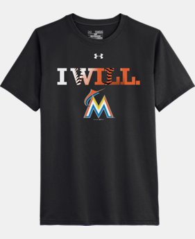 Kids' Miami Marlins UA Tech™ T-Shirt