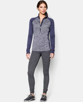 Women's UA Tech ½ Zip Twisted  1 Color $33.99