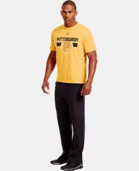 Men's Pittsburgh Pirates Charged Cotton® Tri-Blend T-Shirt LIMITED TIME: FREE U.S. SHIPPING  $26.99