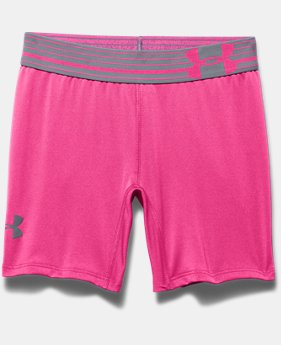 "Girls' UA HeatGear® Armour 5"" Short"