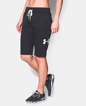 Women's UA Cotton Fleece Boyfriend Short