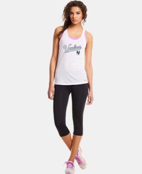 Women's New York Yankees UA Achieve Tank LIMITED TIME: FREE U.S. SHIPPING 1 Color $20.24