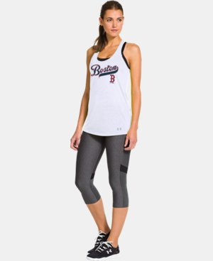 Women's Boston Red Sox Achieve Tank LIMITED TIME: FREE U.S. SHIPPING 1 Color $20.24