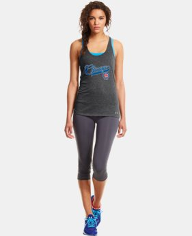 Women's Chicago Cubs UA Achieve Tank   $26.99