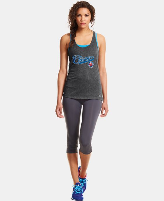Women's Chicago Cubs UA Achieve Tank LIMITED TIME: FREE U.S. SHIPPING 1 Color $26.99