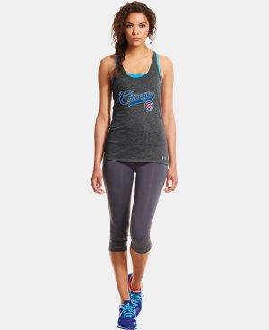 Women's Chicago Cubs UA Achieve Tank  1 Color $26.99
