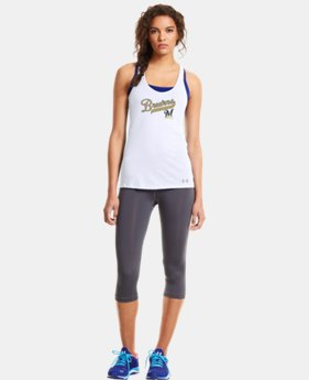 Women's Milwaukee Brewers UA Achieve Tank