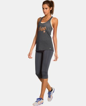 New to Outlet Women's Houston Astros UA Achieve Tank LIMITED TIME: FREE U.S. SHIPPING 1 Color $20.24
