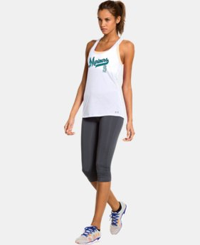 New to Outlet Women's Seattle Mariners UA Achieve Tank  1 Color $26.99