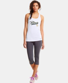 New to Outlet Women's San Diego Padres Achieve Tank LIMITED TIME: FREE U.S. SHIPPING 1 Color $20.24