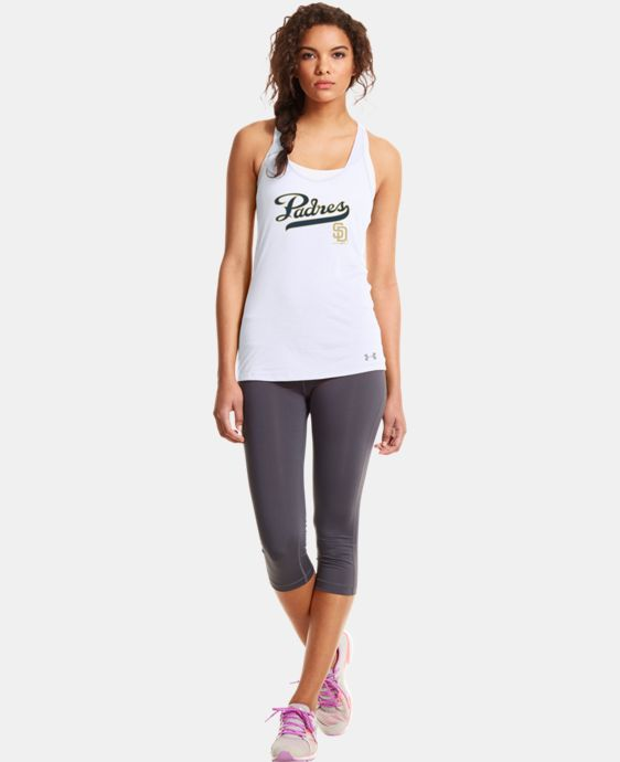 New to Outlet Women's San Diego Padres Achieve Tank  1 Color $26.99