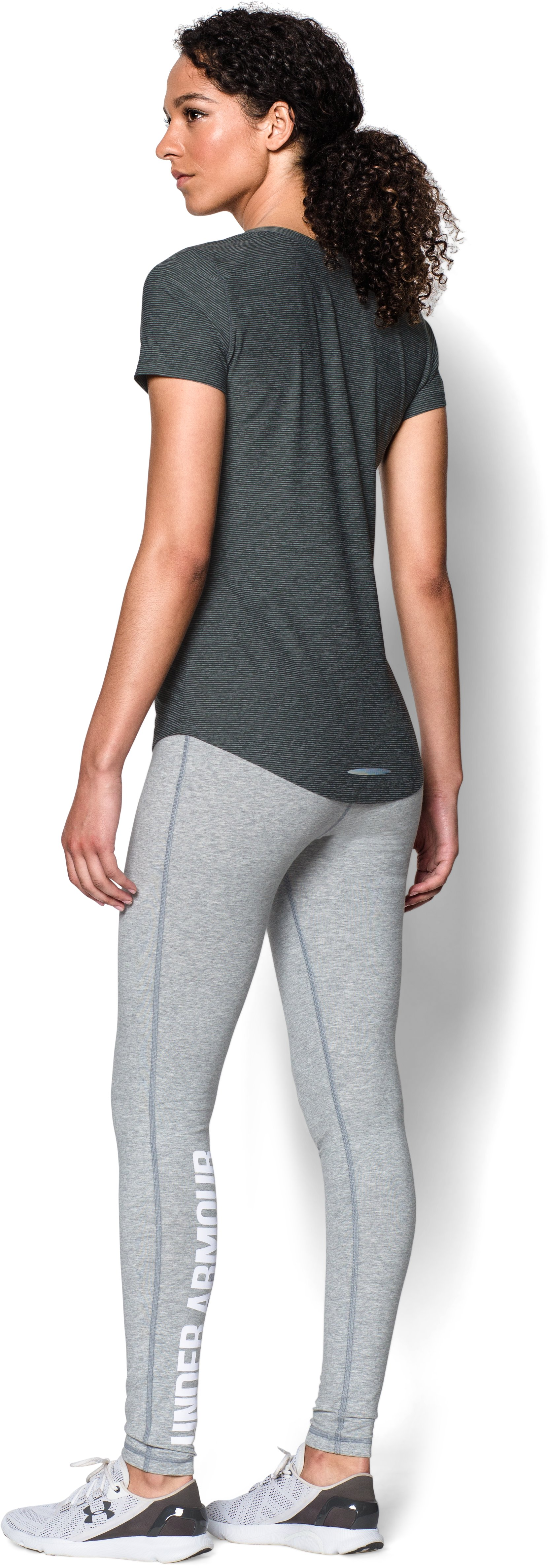 Women's UA Favorite Wordmark , True Gray Heather, Front