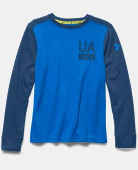 Boys' UA Combine® Training Long Sleeve Crew