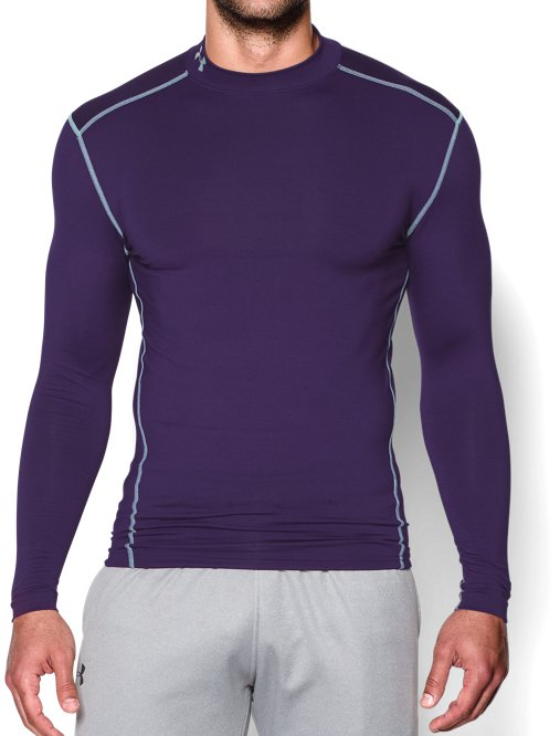 4cf028f37 Men's UA HeatGear® Armour Long Sleeve Compression Shirt | Under ...