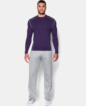 Men's UA ColdGear® Armour Compression Mock LIMITED TIME OFFER + FREE U.S. SHIPPING 1 Color $37.49