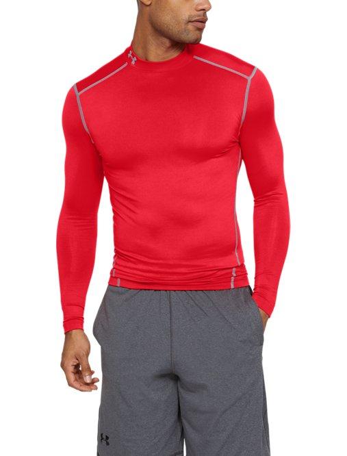 e2cd6221ab Men's UA HeatGear® Armour Long Sleeve Compression Shirt | Under ...