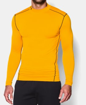 Men's UA ColdGear® Armour Compression Mock  3  Colors Available $29.99 to $37.99