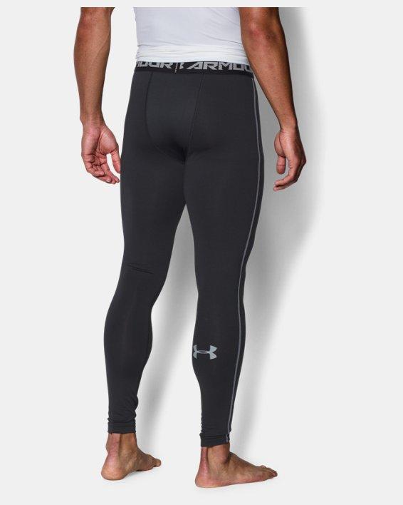 Men's UA ColdGear® Armour Compression Leggings, Black, pdpMainDesktop image number 1