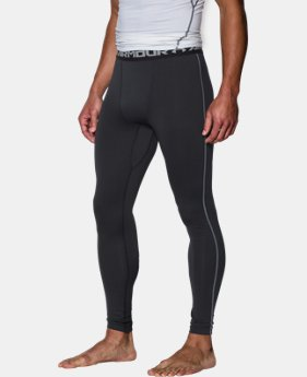 Men's UA ColdGear® Armour Compression Leggings  1  Color Available $59.99