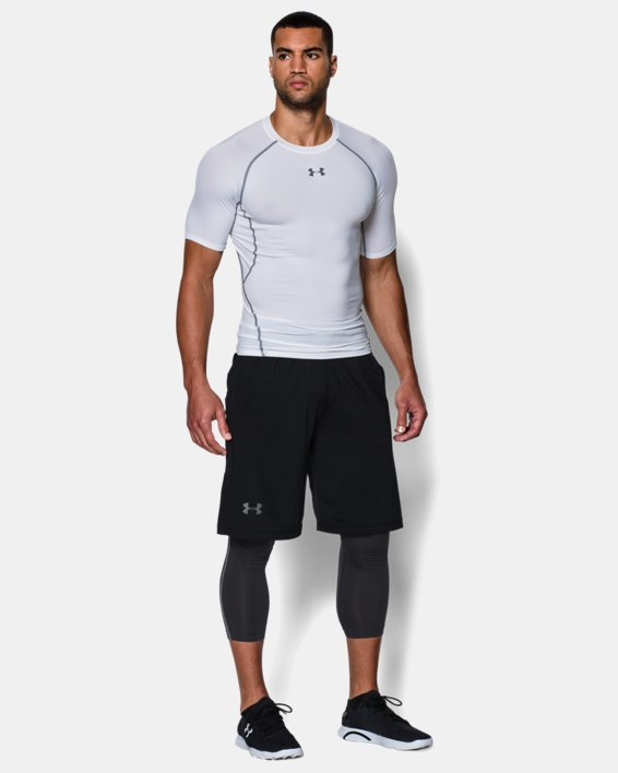 Men's UA ColdGear® Armour Compression Leggings, Black, pdpMainDesktop image number 3
