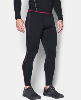 Men's UA ColdGear® Armour Compression Leggings  1 Color $37.49