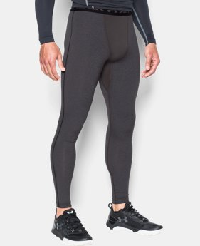 Men's UA ColdGear® Armour Compression Leggings LIMITED TIME OFFER + FREE U.S. SHIPPING 2 Colors $37.49