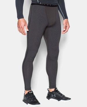 Men's UA ColdGear® Armour Compression Leggings LIMITED TIME: FREE SHIPPING 1 Color $44.99