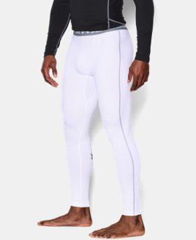 Best Seller Men's UA ColdGear® Armour Compression Leggings  1  Color Available $49.99