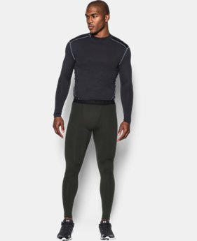 New Arrival  Men's UA ColdGear® Armour Compression Leggings   $59.99