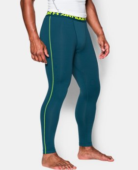 Men's UA ColdGear® Armour Compression Leggings  2 Colors $22.49