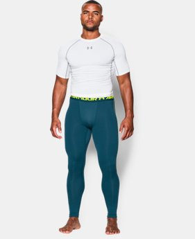 New Arrival  Men's UA ColdGear® Armour Compression Leggings  1 Color $59.99