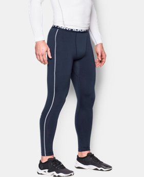 Men's UA ColdGear® Armour Compression Leggings LIMITED TIME OFFER + FREE U.S. SHIPPING 3 Colors $37.49