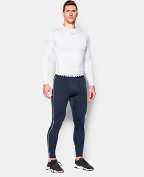 New Arrival  Men's UA ColdGear® Armour Compression Leggings  1 Color $33.74 to $59.99