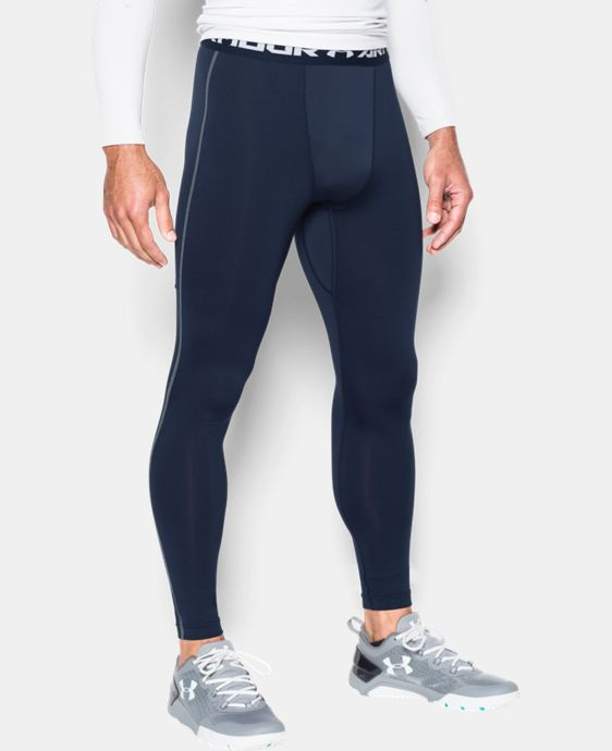 Men's UA ColdGear® Armour Compression Leggings LIMITED TIME OFFER + FREE U.S. SHIPPING 1 Color $37.49