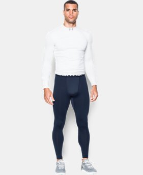 New Arrival  Men's UA ColdGear® Armour Compression Leggings  2 Colors $44.99 to $59.99