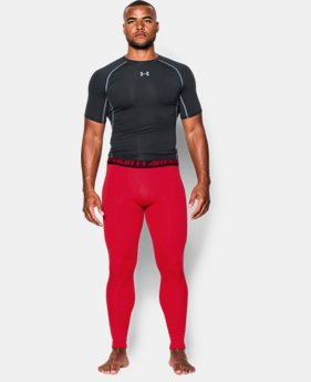 Men's UA ColdGear® Armour Compression Leggings  1 Color $29.99 to $37.99