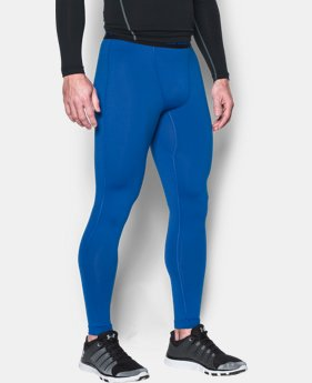 Men's UA ColdGear® Armour Compression Leggings  1 Color $27.99